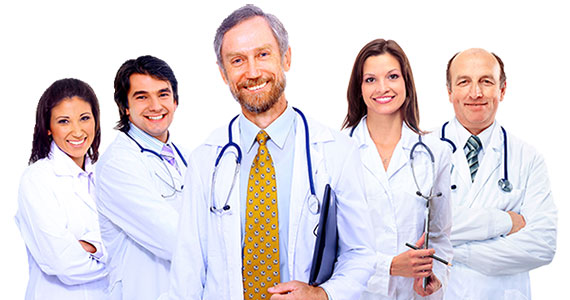 Especialistas en las Diferentes Áreas médicas